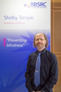 image of shelby temple winner of innovator of the year 2017 by event photographer london Martin Lea