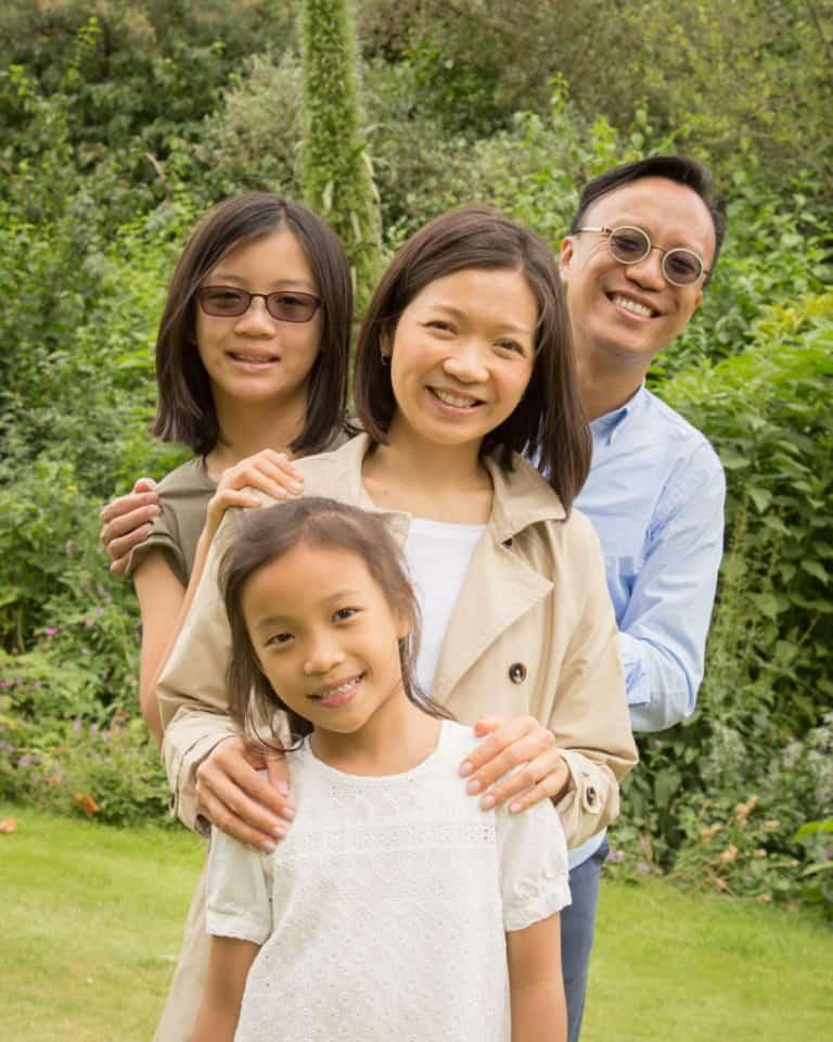location family portrait photography by professional portrait photographer martin lea