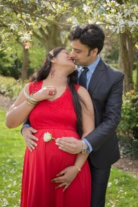 maternity photoshoot with family portrait photographer london