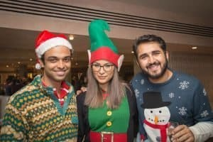 christmas party photography